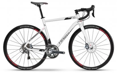 Gravel bike haibike seet alltrack 1 0 shimano tiagra 10v blanc s 155 165 cm