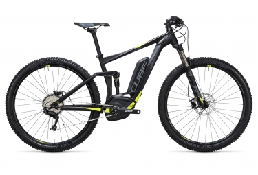velo electrique 2017 cube stereo hybrid 120 hpa pro 500 27 5 boost shimano xt 11v no