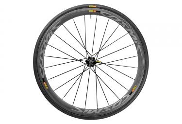paire de roues mavic 2017 cosmic pro carbon sl c sram shimano pneu yksion pro 25mm