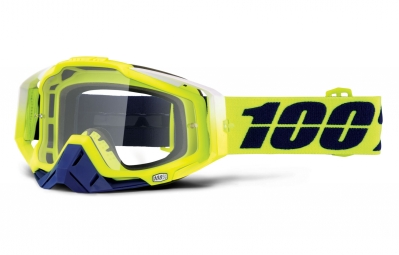 masque 100 racecraft tanaka jaune ecran transparent