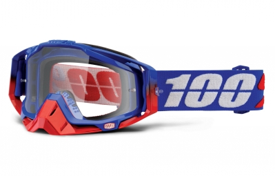 masque 100 racecraft republic bleu ecran transparent