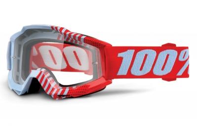 masque 100 accuri cupcoy rouge ecran transparent