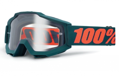 masque 100 accuri gunmetal vert ecran transparent