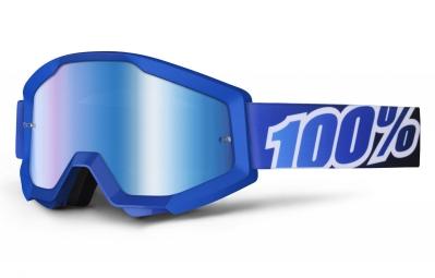 masque 100 strata blue lagoon bleu ecran mirror bleu adulte
