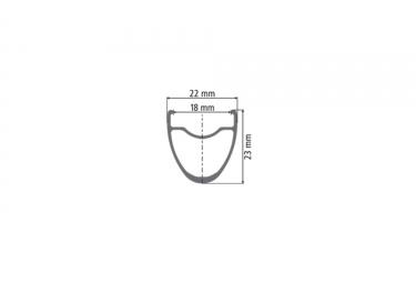 roue avant dt swiss r23 spline disc db 15x100 mm noir