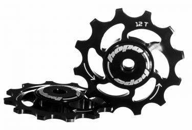 paire de galets hope 12 dents sram 11 vitesses noir