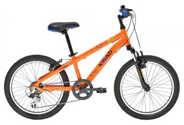 VTT Enfant GITANE KWAD 20 6 Vitesses Orange 6 - 9 ans