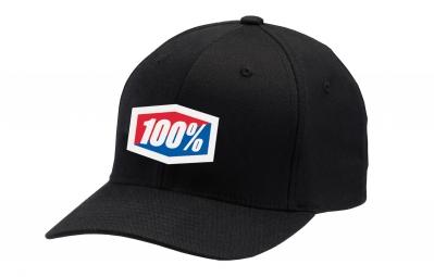 casquette 100 classic flex fit noir s m