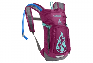 camelbak mini mule youth hydration pack 1 5l purpura