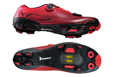 chaussures vtt shimano xc 700 rouge 42