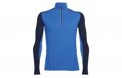 maillot manche longues icebreaker factor bleu l