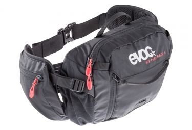 EVOC HIP PACK RACE 3L Bagpack + Poche 1.5L Black
