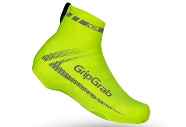 gripgrab couvres chaussures raceaero taille unique jaune fluo
