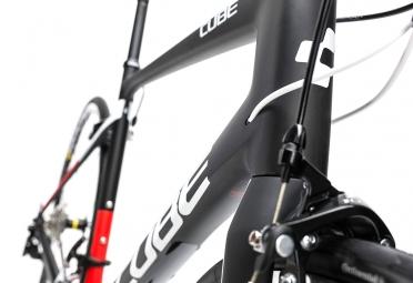 Vélo de Route Cube Attain GTC Shimano 105 11V 2017 Noir / Rouge