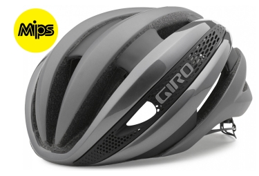 casque giro synthe mips gris argent s 51 55 cm