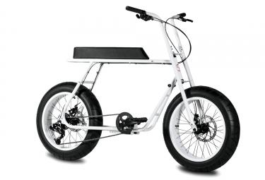 Vélo de Ville COAST CYCLES RUCKUS - 20'' Sram X4 8V Blanc 2017