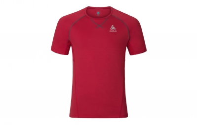 Maillot manches courtes odlo virgo rouge m