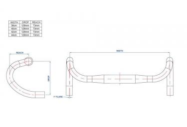 Cintre RITCHEY Curve WCS Carbon 3K