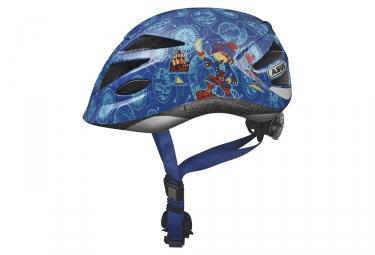 casque velo enfant abus hubble bleu xs 45 50 cm