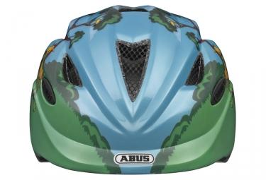 Casque vélo Enfant ABUS ANUKY Bleu Vert