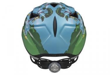 casque velo enfant abus anuky bleu vert s 46 52 cm