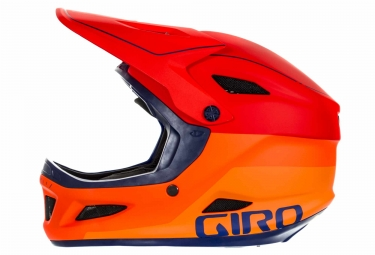 casque integral giro disciple mips orange violet xs 47 51 cm