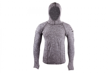 COMPRESSPORT 3D THERMO Hoodie Grey