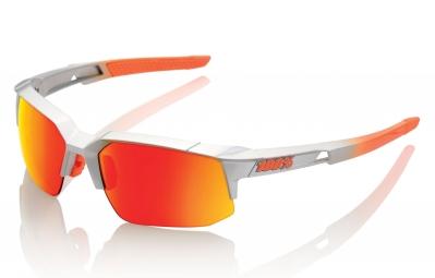Lunettes 100% SpeedCoupe SL Gris Ecran Orange Iridium