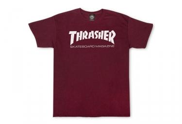 T-Shirt Thrasher Skate Mag Rouge
