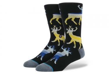 paire de chaussettes stance donner noir 43 46