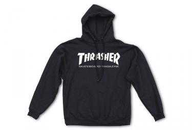Sweat à Capuche Thrasher Skate Mag Noir