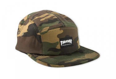 Casquette Thrasher 5 Panel Camo