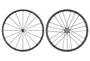 paire de roues fulcrum racing zero nite c17 corps campagnolo noir