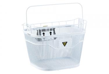 Panier topeak basket front ebike blanc