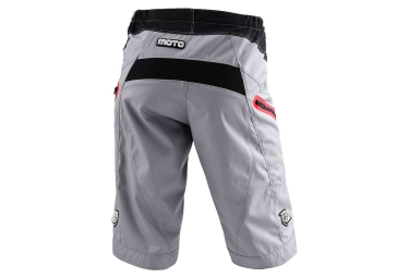 troy lee designs 2016 short moto gris 30