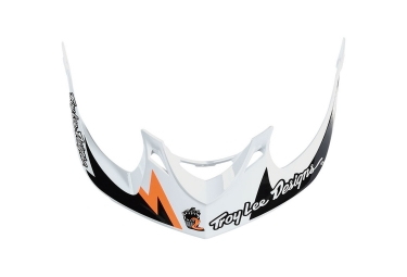 Visiere troy lee designs a1 vertigo blanc