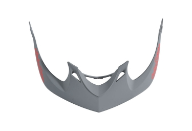 Visiere troy lee designs a1 drone gris rouge
