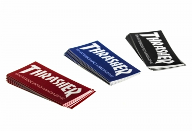 Pack 25 Stickers Thrasher Skate Mag Taille Petite