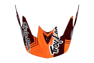 visiere troy lee designs d3 berzerk orange