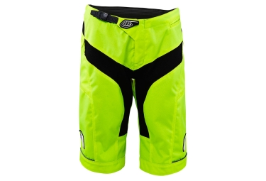 short troy lee designs femme moto jaune m