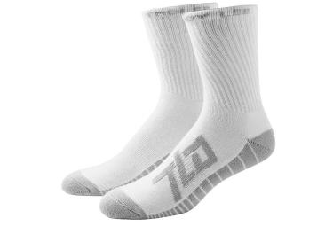 troy lee designs x3 paires de chaussettes factory blanc 41 43