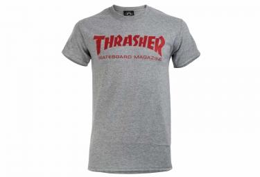 T shirt thrasher skate mag gris xl