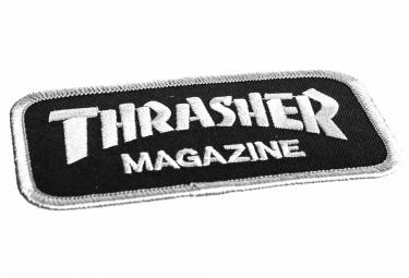 Patch Thrasher Logo Noir Blanc