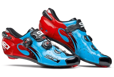 Road Shoes SIDI Wire 2017 Blue Black Red