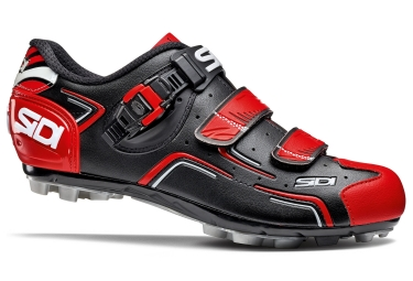 xx sidi chaussures buvel scarpe mtb black red white 40
