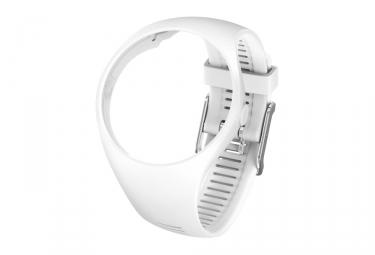bracelet polar m200 blanc m l
