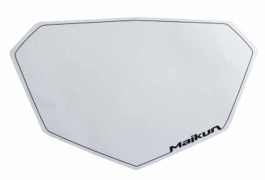 Fond de Plaque Maikun 3D Pro Blanc
