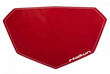 Fond de Plaque Maikun 3D Mini Rouge