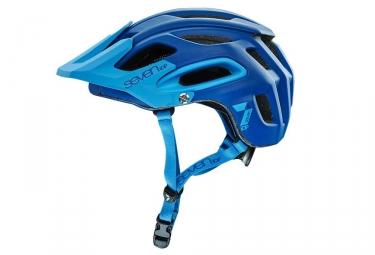 casque seven m2 bleu mat m l 56 59 cm