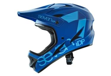 casque integral seven m1 bleu mat l 59 60 cm
